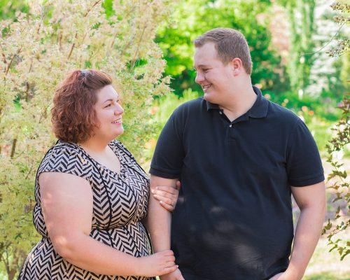 Elisabeth & Thomas {Ogden Couples + Engagement Photographer}