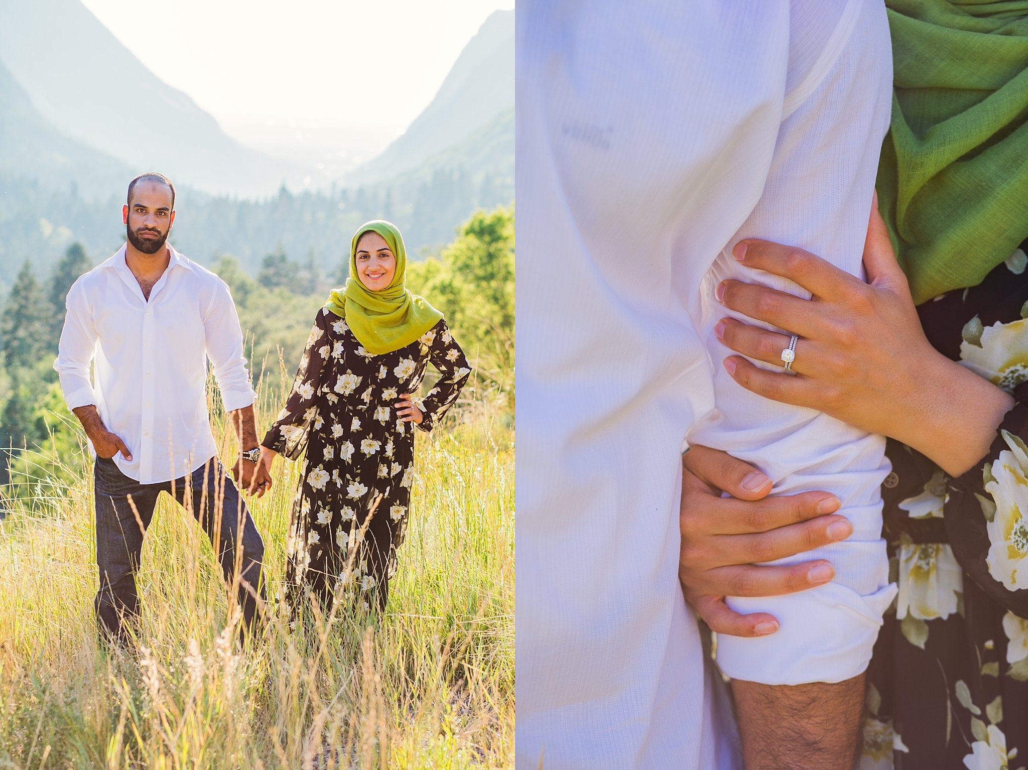 Little Cottonwood Canyon,couple,couple session,engagement photos,love,married,muslim,salt lake couple photographer,salt lake engagement photographer,