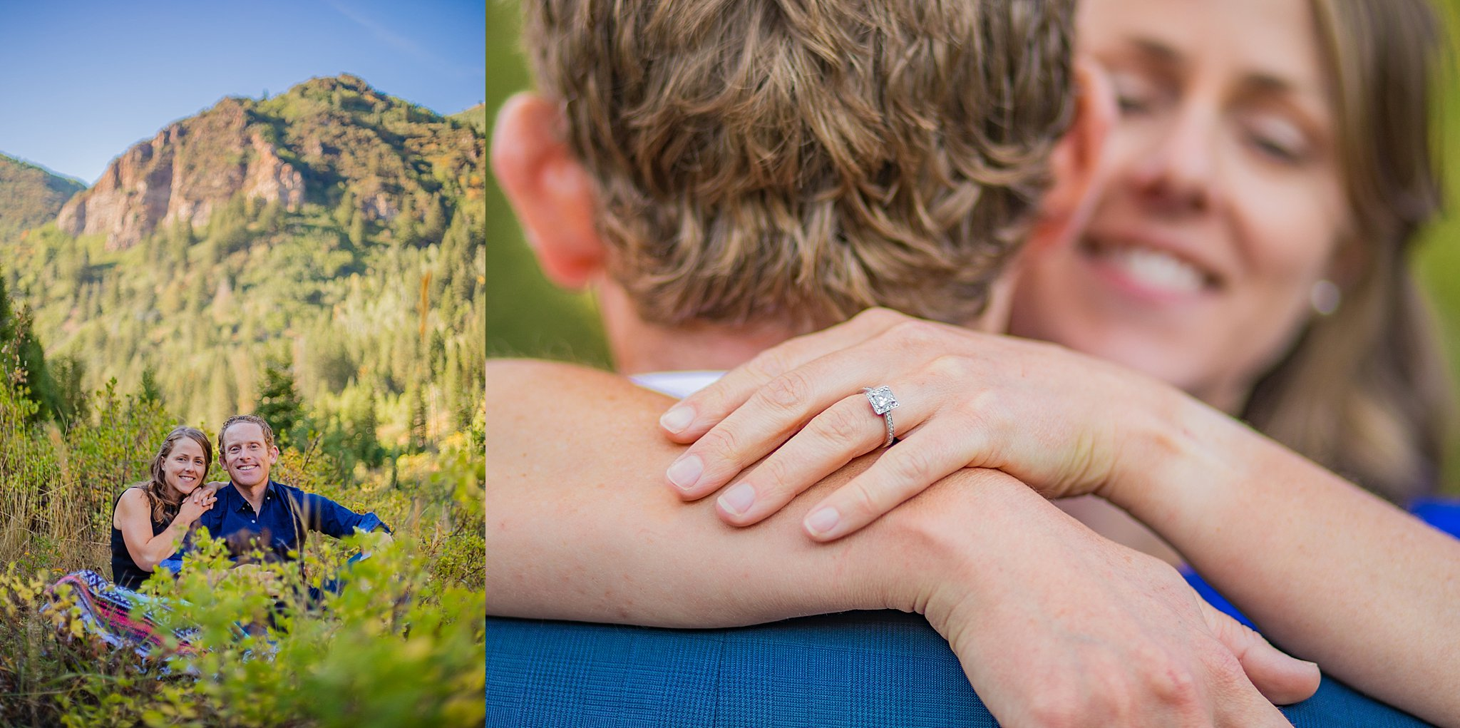 couple,couple session,engagement,engagement photos,mountain engagement session,