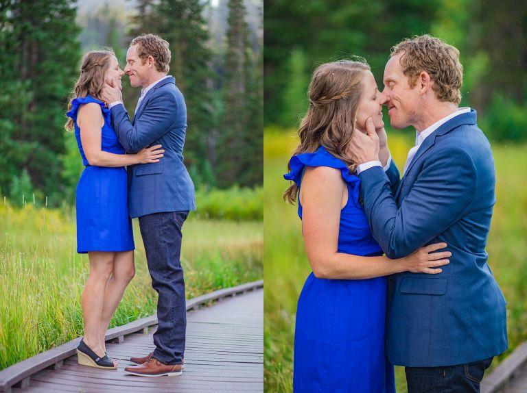 couple,couple session,engagement,engagement photos,mountain engagement session,