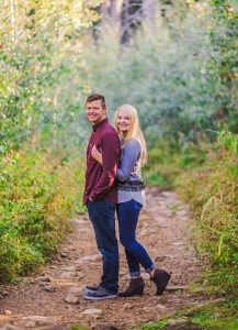 Sydnee & Joe Engagement {Little Cottonwood Canyon}