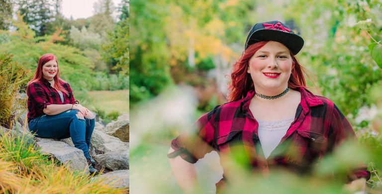 bellevue graduation photographer, bellevue senior photography, lewis creek park, bellevue washington, photographer near bellevue washington, fall photography